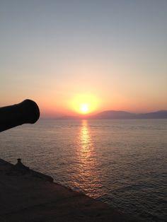Sunset στην πόλη Ύδρα, Αττική