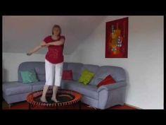 Erfahrungsbericht ganzheitliches Training mit dem bellicon® Trampolin - YouTube