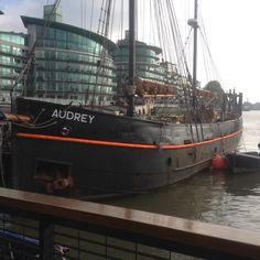 Sailing barge Audrey Sailing Ships, Boat, London, Dinghy, Boats, London England, Sailboat, Tall Ships, Ship