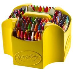 Proudly display your Crayola Crayons with the Ultimate Crayon Collection! This multi-tiered, four-sided case lets you organize and find crayons easily! With 152 colors to choose from, including glitte
