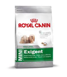 MINI Exigent - Alleinfuttermittel für kleine Hunde bis 10 kg ab 10 Monate.  Eine spezielle knusprig-weiche #Kroketten-Textur sowie sorgfältig ausgewählte #Nährstoffe und eine exklusive #Rezeptur sorgen auch bei kleinen, #wählerischen #Hunden für höchste #Akzeptanz. Kann helfen, #Zahnbelag entgegenzuwirken. #Natriumtriphosphate fangen im Speichel enthaltenes# Kalzium ab, das somit für die #Zahnsteinbildung nicht mehr zur Verfügung steht.