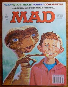 Mad Magazine No 236 January 1983 ET Star Trek II Issue | Collectibles, Comics, Magazines | eBay!