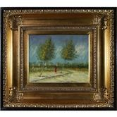 "Found it at Wayfair - on the Outskirts of Paris Canvas Art by Vincent Van Gogh Impressionism - 28"" X 24"""