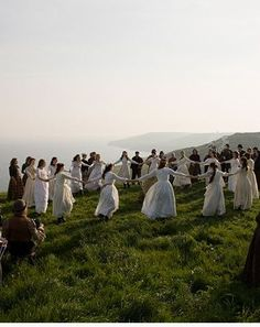 Tess of the D'ubervilles, Beltane dance--reminds me of #outlander and the stones