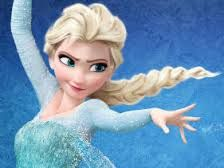 this is Elsa  who was the queen of erandal  and  but because of the powers she and hid from everybody she  could not be queen