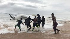 FOX NEWS: Cargo plane crashes in sea off Ivory Coast after takeoff