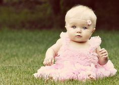 Precious baby girl in pink: by Laura Jean Photography | Laura Henkelman