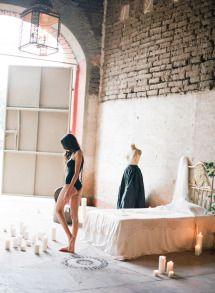 Moody + Romantic Boudoir Session in Mexico | Photos