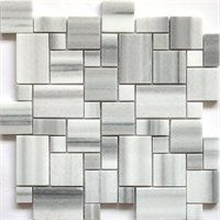 Faber 13-in Equator Marble Mini Pattern Mosaic Natural Stone Wall TilePart# 9998019Lowe's Item Number# 4873