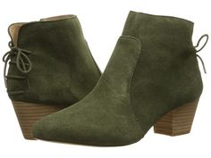 Tahari Charles Olive Cow Suede - Zappos.com Free Shipping BOTH Ways