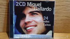 MIGUEL GALLARDO. 24 GRANDES ÉXITOS. DOBLE CD / DISKY - 2001 / CALIDAD LUJO