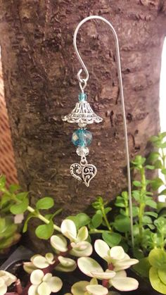 Fairy garden lantern Miniature garden decor
