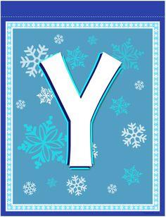 banner letter Frozen Birthday Banner, Girl Birthday, Birthday Ideas, Frozen Theme, Frozen Party, Monogram Alphabet, Alphabet And Numbers, Birthday Blessings, Banner Letters