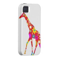Giraffe funky retro floral iphone 4 case tough We have the best promotion for you and if you are interested in the related item or need more information reviews from the x customer who are own of them before please follow the link to see fully reviewsHow to          	Giraffe funky ret...