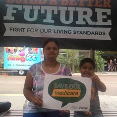 This lady knows what a beautiful thing an affordable universal quality healthcare system Medicare is. Leave alone Malcolm Turnbull.