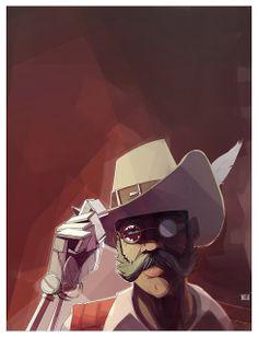 Sir Hammerlock by Benjamin Olive #Borderlands