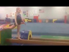Levering in handstands on beam - YouTube