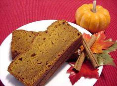 Melt in Your Mouth Pumpkin Bread. What's the secret ingredient? Instant Coconut Pudding Mix!