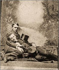 vintage everyday: LGBT Couples – Adorable Vintage Photos of Gay Lovers in the Victorian Era