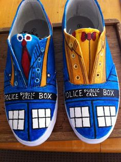 Doctor Who TARDIS Shoes