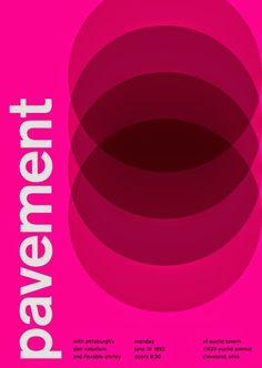 Área Visual - Blog de Arte y Diseño: Swissted. Posters tipográficos de Mike Joyce