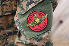 Military Patch design. Airsoft player in Japan.