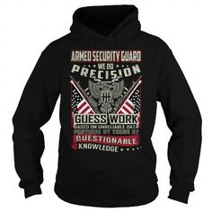 Make this awesome proud Security: Armed Security Guard Job Title T-Shirt as a great gift for Securities