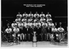 The 1982 Stanley Cup Champion New York Islanders.