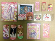 Kawaii Cardcaptor Sakura Kiddyland Harajuku Haul <3  www.the.rainbowholic.me