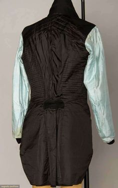 AMAN'S WOOL TAILCOAT, AMERICA, 1810-1820, Augusta Auctions