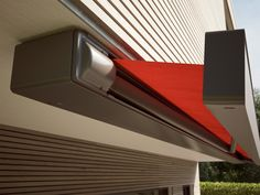 The Markilux 970 has a contemporary full cassette which offers protection for the awning while it isn't in use. Roché supply and install the Markilux Stairs, Design Inspiration, The Unit, Patio, Contemporary, Tents, Ladders, Yard, Terrace