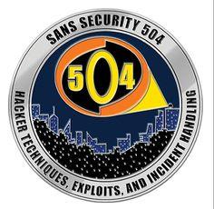 #SEC504 Challenge Coin
