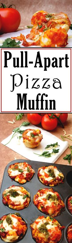 Enjoy these mini pizza muffins for a quick snack or a tasty meal!
