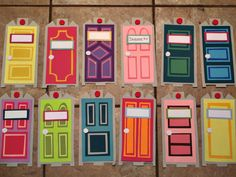 Monster's Inc. theme door decs! use the door as a background and put an ID on it!