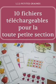 10 fichiers téléchargeables toute petite section Montessori Education, Montessori Activities, Baby Education, Book Activities, Easy Toddler Crafts, Kindness Activities, Printable Activities For Kids, Teaching French, Collage
