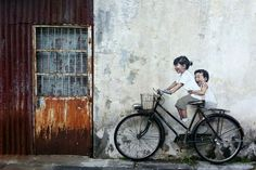 In Penang, Malaysia. Photo by renchu