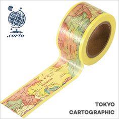 マスキングテープ東京カートグラフィックシック(24mmx10m)