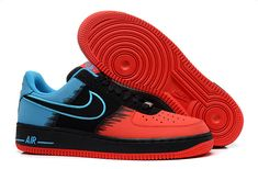 cheap for discount d9156 0b026 Nike Air Force 1 Low Spider Man Red Blue Black Men Shoes Nike Converse, Vans
