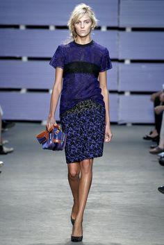 Proenza Schouler Spring 2011 Ready-to-Wear Fashion Show - Anja Rubik