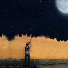 pintando la noche