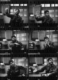 - 1963 - from photo session Karl Marx, Che Quevara, Zurich, Che Guevara Images, Black Contact Lenses, Ernesto Che Guevara, Contact Sheet, Halloween Contacts, Famous Pictures