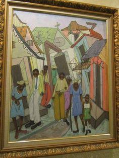 Authentic Haitian Painting by Reynald Joseph Joseph, Primitive, Paintings, Art, Dibujo, Art Background, Paint, Painting Art, Kunst