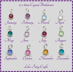 b03e753396f0d0 Add Channel Drop Birthstone - Add On Silver Channel Drop