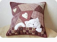 Patchwork sewing Entries in category Patchwork sewing needlework, . Sewing Pillows, Diy Pillows, Custom Pillows, Decorative Pillows, Cushions, Throw Pillows, Patchwork Pillow, Quilted Pillow, Crazy Quilting