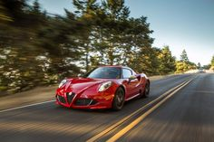 Zostaw wszystkich w tyle. Alfa Romeo 4C.