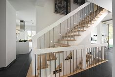 #staircase #light #design Stairway to heaven? Maybe. Design your home with us.