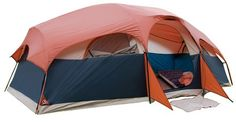 "16'x9'x72"" (H) 8 Person 2 Room Family Dome Tent 