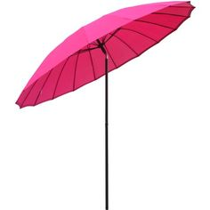nice 2.5m Tilting Parasol Sun Shade Protection Garden Patio Umbrella Brolly - Pink Buy this and much more home & living products at http://www.woonio.co.uk/p/2-5m-tilting-parasol-sun-shade-protection-garden-patio-umbrella-brolly-pink/