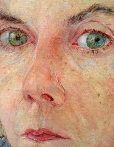'Pensive Self Portrait' (detail) by Jennifer McRae