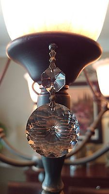 1 single clear 3 long crystal spear light charm chandelier prism 1 single clear 3 long crystal spear light charm chandelier prism lamp magnet for the home pinterest aloadofball Choice Image